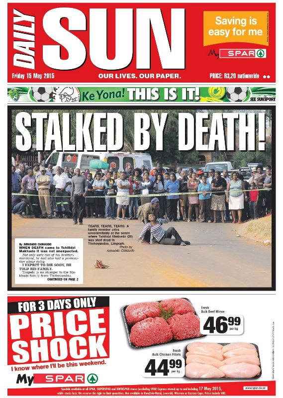 daily sun newspaper in south africa