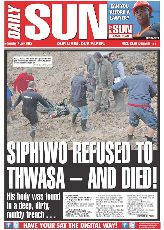 Siphiwo refused to Thwasa – and died!