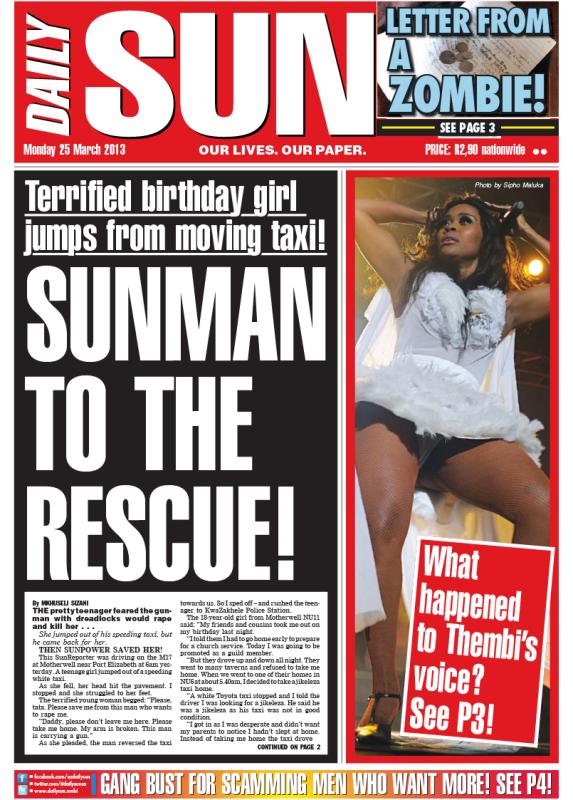 Their punanis buy them booze! - Daily Sun - NEWS