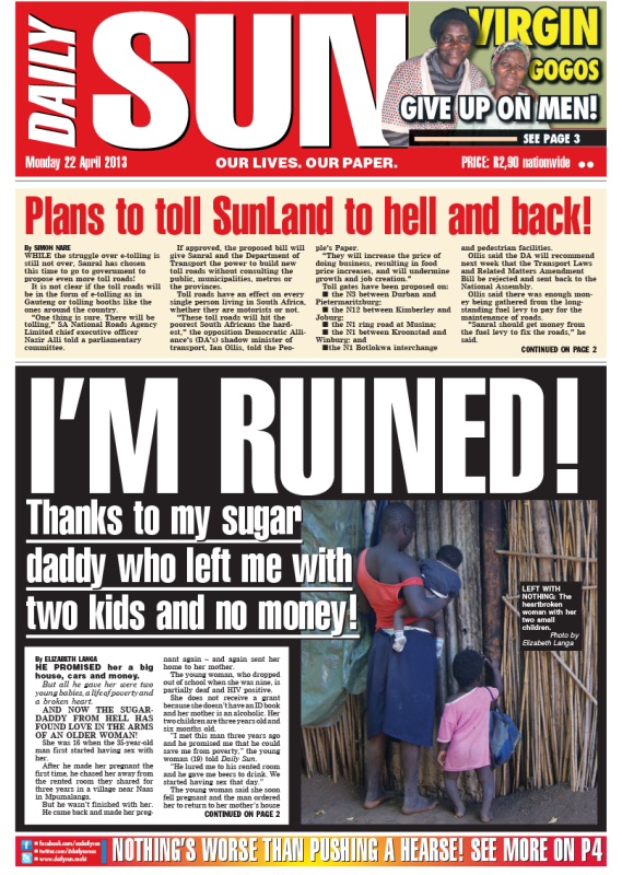 daily the sun current information article