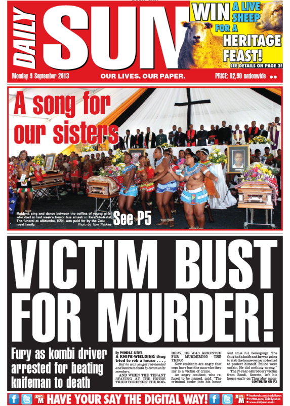 Victim bust for murder!