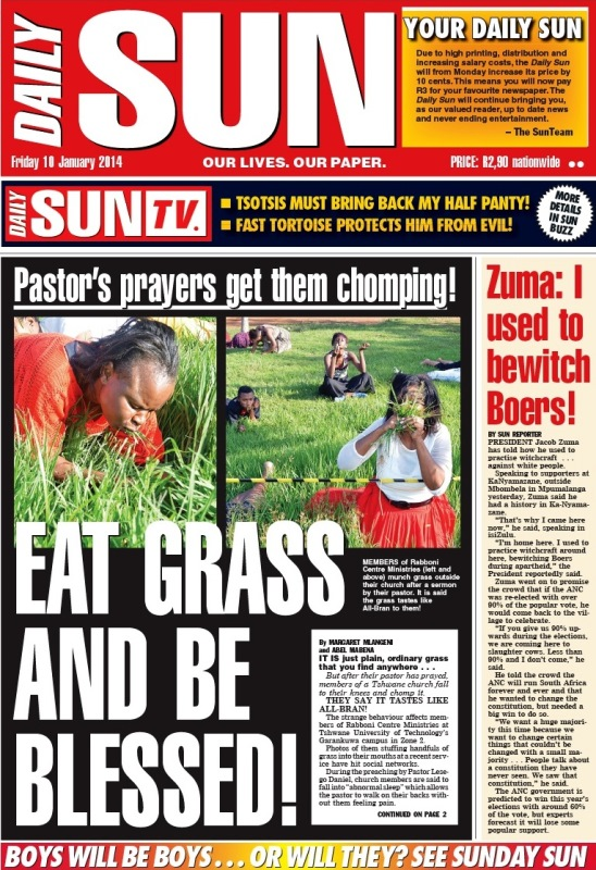 daily sun-generated southern states the african continent press articles