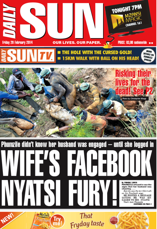 Wife`s Facebook Nyatsi fury!