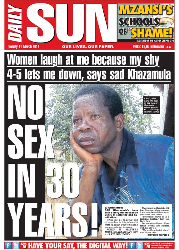 Grubstreet: At Daily Sun, Tokoloshe stays as reportage