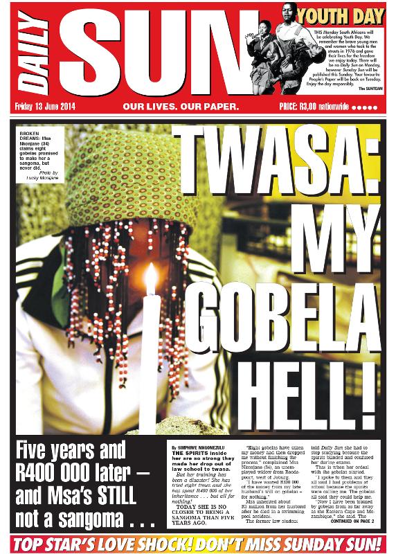 Twasa: My gobela hell!