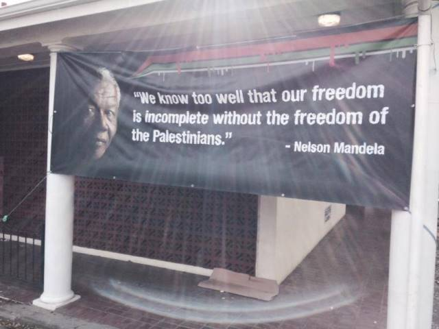 DA Cape Town councillor has Mandela banner pulled down on Mandela day - ANC WCape