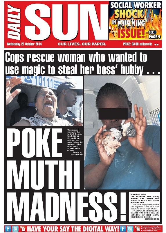 Poke muthi madness!
