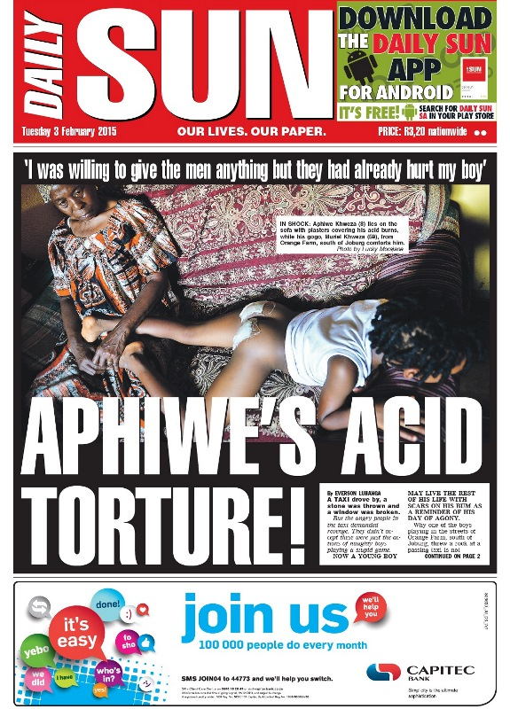 Ben 10 poked my wife! - Daily Sun - PARTY | Politicsweb